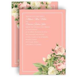 Rose Wedding Invitations: Brilliant Blossoms Invitation