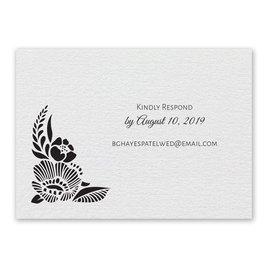 Wedding Response Cards: Woodland Window Response Card