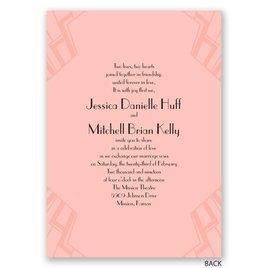 Love Captured - Gold - Foil Invitation