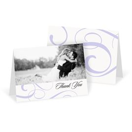 Thank You Cards: Modern Beauty Thank You Card