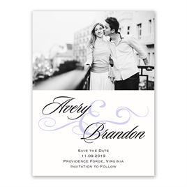 Modern Beauty - Save the Date Card