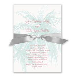 Palm Tree Passion - Invitation