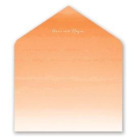 Sea Beauty - Poppy - Designer Envelope Liner