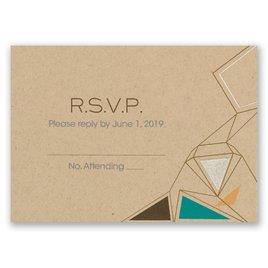 Pretty Prisms - Silver - Foil Response Card