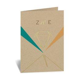 Modern Thank You Cards: Pretty Prisms - Foil Thank You Card