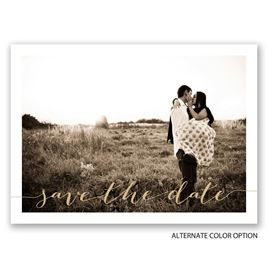 Simply Perfect - Save the Date Postcard