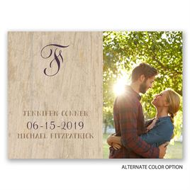 Choose Your Design - Rustic - Save the Date Postcard