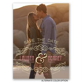 Favorite Photo - Save the Date