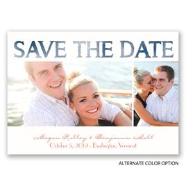 Modern Watercolor - Save the Date Magnet