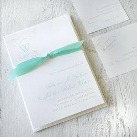 Sophisticated Swirls - Invitation
