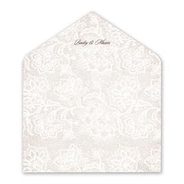 Wedding Envelope Liners: 