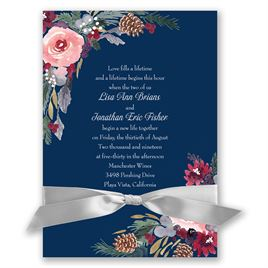 Bold Blooms - Invitation