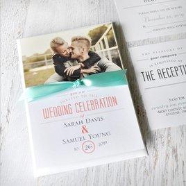 A Wedding Celebration - Invitation