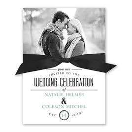 A Wedding Celebration Invitation