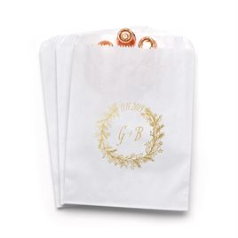 Wreath Frame - White - Favor Bags