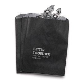 Better Together - Black - Favor Bags