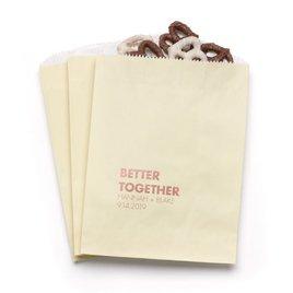 Better Together - Ecru - Favor Bags