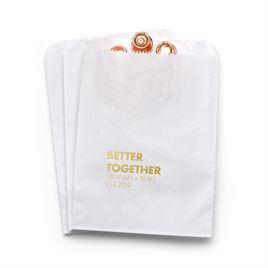 Better Together - White - Favor Bags