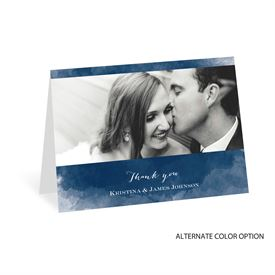 Watercolor Beginnings - Thank You Card