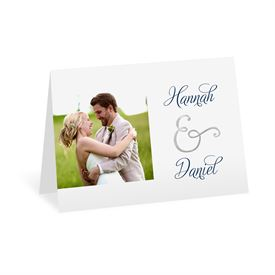 Perfect Pair - Silver Foil - Thank You Card