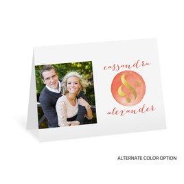 Modern Glow - Gold Foil - Thank You Card