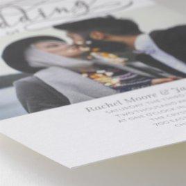 Modern Pair - Letterpress Invitation
