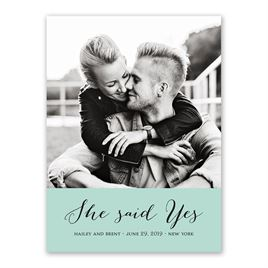 True Vision - Save the Date Card