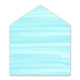 Sweet Serenity - Aqua - Envelope Liner