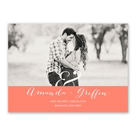 Modern Style - Save the Date Card