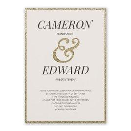 Wedding Invitations: Clean Cut Laser Cut Invitation