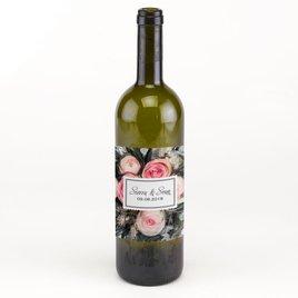 Wedding Favors: Ethereal Garden Wine Bottle Label