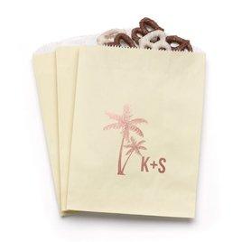 Palm Trees - Ecru - Favor Bags