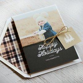 Elegant Outdoors - Holiday Card