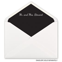 Custom Color - Designer Envelope Liner
