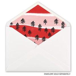 Candy Cane Wishes - Designer Envelope Liner