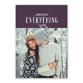 Merry Everything - Holiday Card