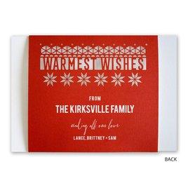 Playful Winter - Laser Cut Holiday Card