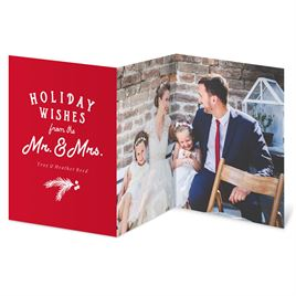 Newlywed Wishes - Holiday Card