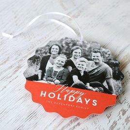 Modern Look - Holiday Card