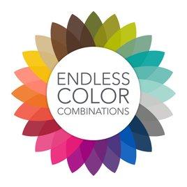 Painted Stripes - Black - Address Label