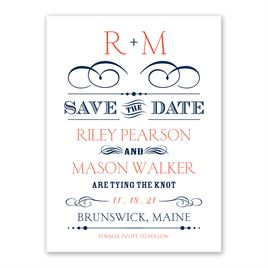 Blended Style - Save the Date Card