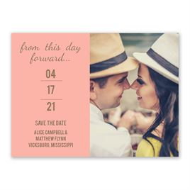 Save The Dates: Simply Special Save the Date Card
