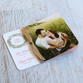 Wreath Whimsy - Invitation Flip Book