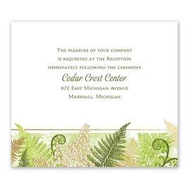 Botanical Beauty - Gold - Foil Information Card