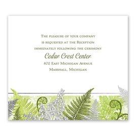 Botanical Beauty - Silver - Foil Information Card