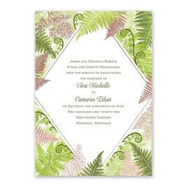 Botanical Beauty - Rose Gold - Foil Invitation