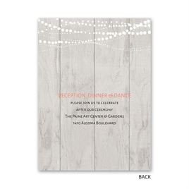 Rustic Lights - Petite Invitation