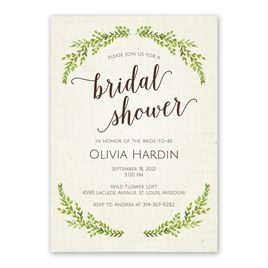Botanical Bride - Bridal Shower Invitation
