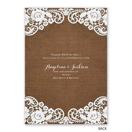 Laced Love - Bridal Shower Invitation