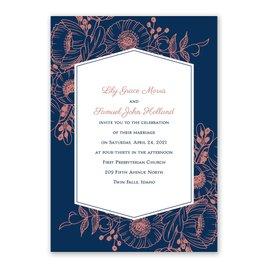 Pretty Poppies - Invitation
